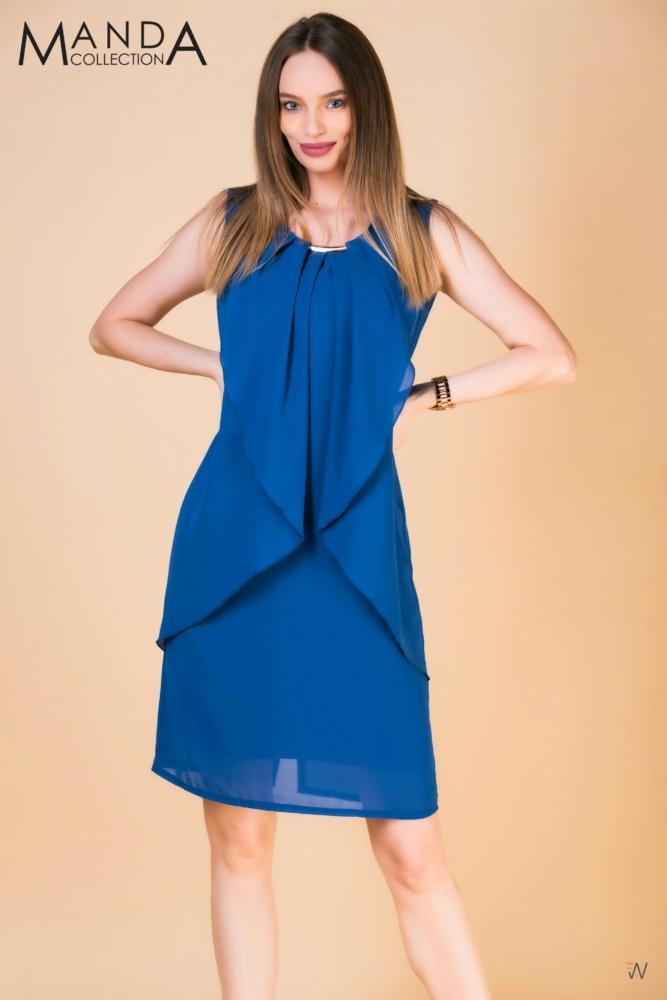 Kék muszlin ruha